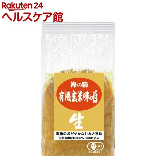 海の精 国産有機玄米味噌 10770(1kg)