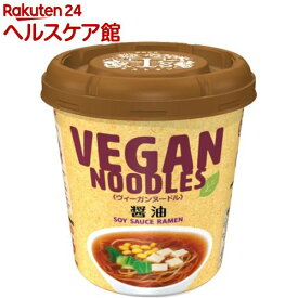 ニュータッチ ヴィーガンヌードル 醤油(12個入)【ニュータッチ】