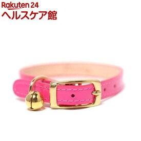 ペット用首輪 Sサイズ WO-026 ピンク(1コ入)