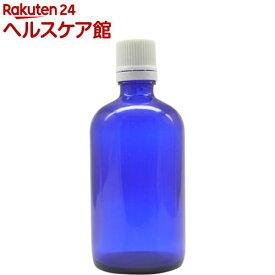 アロマアンドライフ Kシリーズ KENSOブルーボトル 100ml 白バージンキャップ 3本(1セット)【アロマアンドライフ】