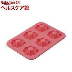 カイハウスセレクト シリコーンドーナッツ型 ポンデ 6個取 DL6246(1個)【Kai House SELECT】