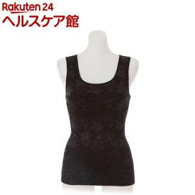 ドレスアップ裏起毛姿勢フィットインナー ブラック L〜LL(1枚)