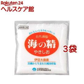 海の精 やきしお 詰替用(60g*3コセット)