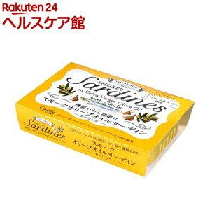 【訳あり】スモークオリーブオイルサーディン ガーリック(100g)【TOMINAGA】