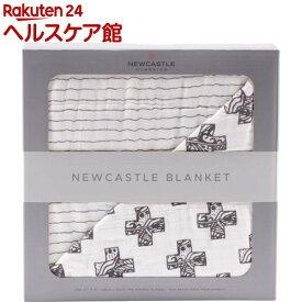 NEWCASTLE CLASSICS バンブーブランケット Nordic Cross&Pencil Stripe(1枚)【ニューキャッスルクラシックス】