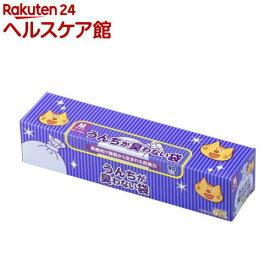 うんちが臭わない袋BOS(ボス) ネコ用 箱型 Mサイズ(90枚入)【防臭袋BOS】
