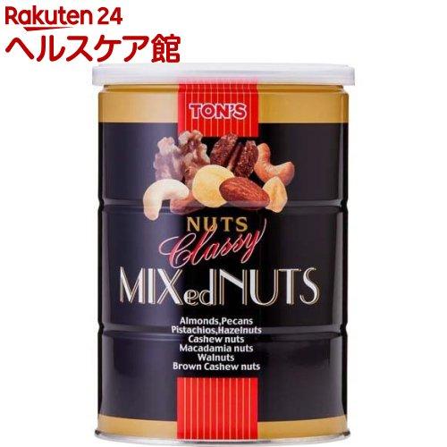 東洋ナッツ食品 クラッシー ミックスナッツ 缶(360g)【トン(ナッツ)】
