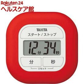 タニタ タイマー くるっとシリコーンタイマー レッド TD-420-RD(1個)【タニタ(TANITA)】