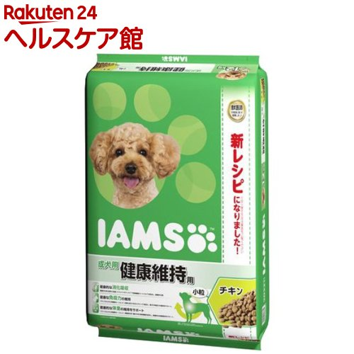 アイムス 成犬用 健康維持用 チキン 小粒(12kg)【アイムス】[【iamsd81609】]