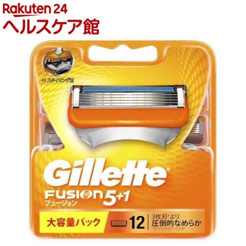 ジレット フュージョン5+1 替刃12B(12コ入)【ジレット】