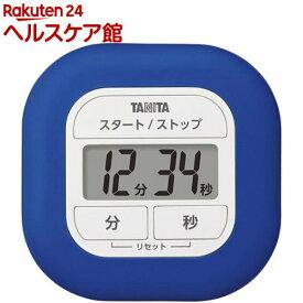 タニタ タイマー くるっとシリコーンタイマー ブルー TD-420-BL(1個)【タニタ(TANITA)】