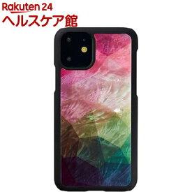 アイキンス iPhone 11 天然貝ケース Water flower I16883i61R(1個)【アイキンス(Ikins)】