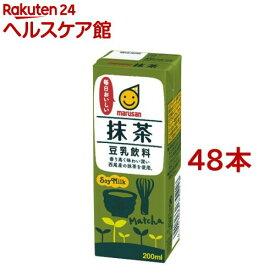 マルサン 豆乳飲料 抹茶(200mL*12本入*2コセット)【マルサン】