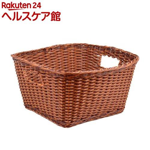 カルティエラタン 洗えるバスケット エマ ブラウン M(1コ入)【カルティエラタン(QuaritierLatin)】【送料無料】