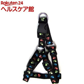 蓄光フットハーネス #20 ブラック(1本入)【蓄光フットシリーズ】