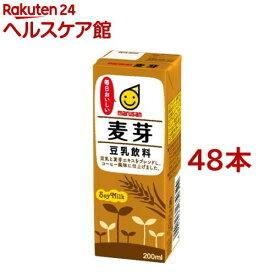 マルサン 豆乳飲料 麦芽(200ml*12本入*2コセット)【マルサン】