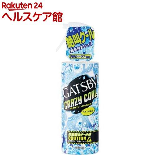 ギャツビー クレイジークール ボディウォーター アイスシトラス(170mL)【GATSBY(ギャツビー)】