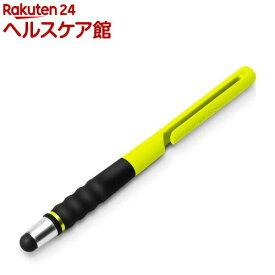 タッチペン シリコンタイプ ライムイエロー PG-TPEN15YE(1本入)