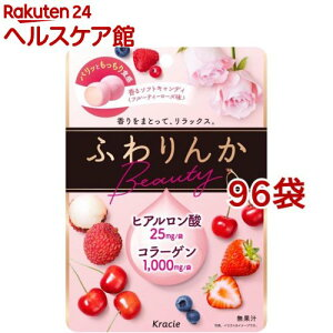 クラシエ ふわりんかビューティー フルーティーローズ味(60g*96袋セット)【ふわりんか】