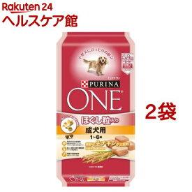 ピュリナワン ドッグ ほぐし粒入り 1〜6歳 成犬用 チキン(4.2kg*2袋セット)【dalc_purinaone】【ピュリナワン(PURINA ONE)】