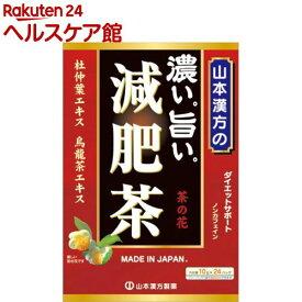 山本漢方 濃い旨い 減肥茶(10g*24分包)【more20】