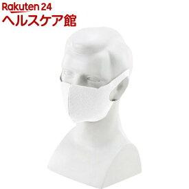シリカクリン 抗菌消臭立体マスク ホワイト M(1枚)【シリカクリン】