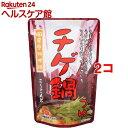 チゲ鍋つゆ(600g(2-3人前)*2コセット)【日東醸造】