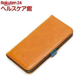 iPod touch第5世代/第6世代用 フリップカバー キャメル PG-IT5FP01CM(1コ入)