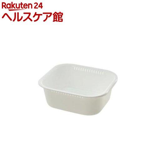 レイ 洗い桶 K型 ホワイト(1コ入)【レイ】