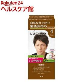 ルシード ワンプッシュケアカラー ライトブラウン(100g)【more20】【ルシード(LUCIDO)】[白髪染め]