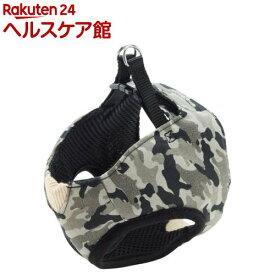 ペティオ アルファッション 迷彩ベストハーネス SS グレー(1コ入)【アルファッション(ARFashion)】