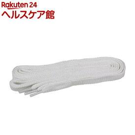 SK11 ほどけにくい靴ひも No-Slip110 ホワイト(1組)【SK11】