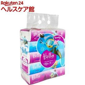ハロートゥイーティーソフトパックティシュ(300枚(150組)*5個パック)【ハロー】