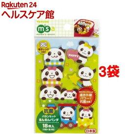 抗菌バランセット るんるんパンダ(18枚入*3コセット)【more20】