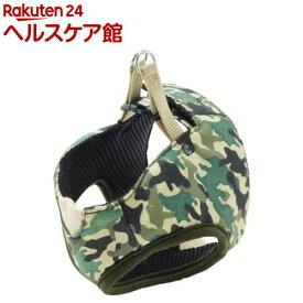 ペティオ アルファッション 迷彩ベストハーネス S グリーン(1コ入)【アルファッション(ARFashion)】