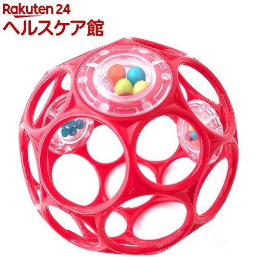 【オススメ】オーボール ラトル・レッド(1コ入)【オーボール】
