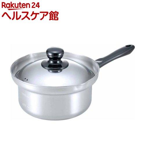 日本製のらーめん鍋 (両口・目盛付) 16cm(1コ入)【下村企販】【送料無料】