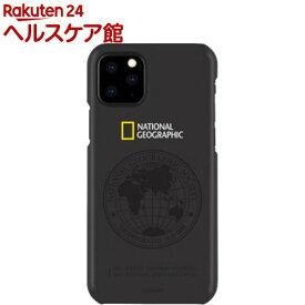 iPhone 11 Pro Max Global Seal Slim Fit Case ブラック(1個)【National Geographic(ナショナル ジオグラフィック)】