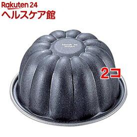 ブラックフィギュア ゼリータイプカップケーキ焼型 菊 D-033(1コ入*2コセット)【ブラックフィギュア】