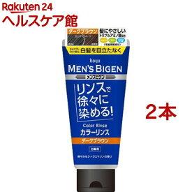 メンズビゲン カラーリンス ダークブラウン(160g*2本セット)【メンズビゲン】