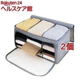 竹炭収納ケース(2個セット)