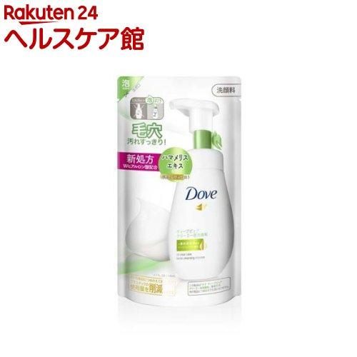 ダヴ ディープピュアクリーミー泡洗顔料 詰替え用(140mL)【ダヴ(Dove)】