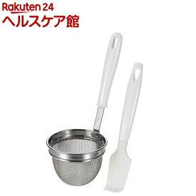 イージーウォッシュ 食洗機対応みそこしセット シリコーンヘラ付 C-8688(1セット)【イージーウォッシュ】