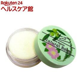 オリーブマノン ナチュバーム ノバラとローズマリーの香り(10ml)【オリーブマノン】