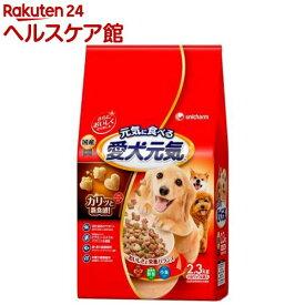愛犬元気 全成長段階用 ビーフ・緑黄色野菜・小魚入り(2.3kg)【愛犬元気】[ドッグフード]