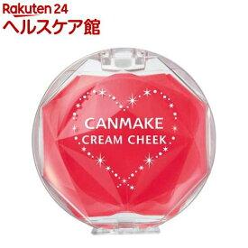 キャンメイク(CANMAKE) クリームチーク CL08 クリアキュートストロベリー(1個)【キャンメイク(CANMAKE)】