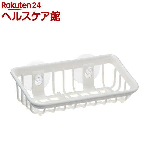 Nポゼ タワシ入れ M型 ホワイト(1コ入)【ポゼ(シンク廻り商品)】