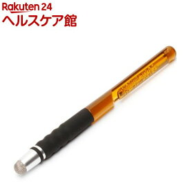 タッチペン 導電繊維タイプ トパーズイエロー PG-TPEN20YE(1本入)