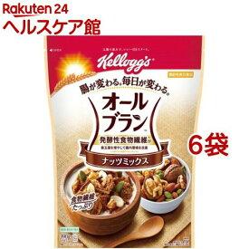 ケロッグ オールブラン ナッツミックス(390g*6袋セット)【オールブラン】