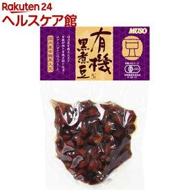 ムソー 有機黒煮豆 21689(125g)